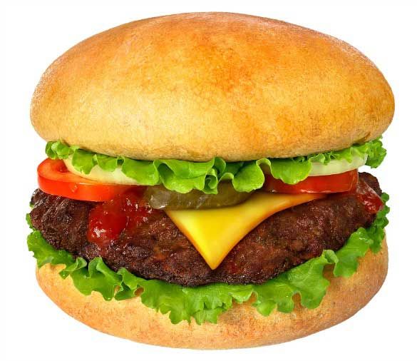 Bigstock--38705062---Hamburger