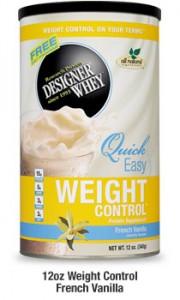 Designer Whey Weight Control Vanilla
