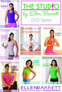 Ellen Barrett workout DVDs