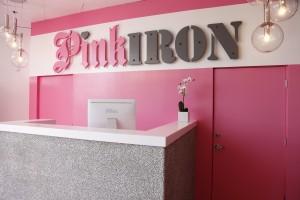 pink iron gym
