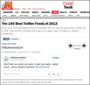 TIMEmag Top Twitter Accts