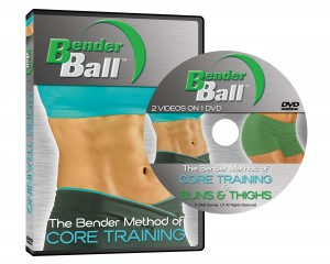 Bender Ball, Leslee Bender, ab workout, glut workout, thigh workout, obliques workout,muscle shakes