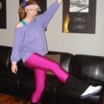 80s aerobics instructor