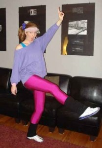 80s aerobics instructor - 80s Dancer Halloween Costume