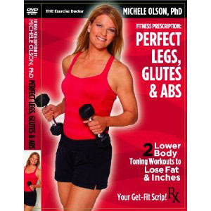 Leg workout, Glutes workout, abs workout, michele olson, dvd workout