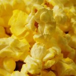 popcorn calories