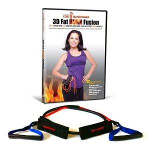 3D fat burn fusion, Linda Larue, DVD review, core, belly fat, ab workout