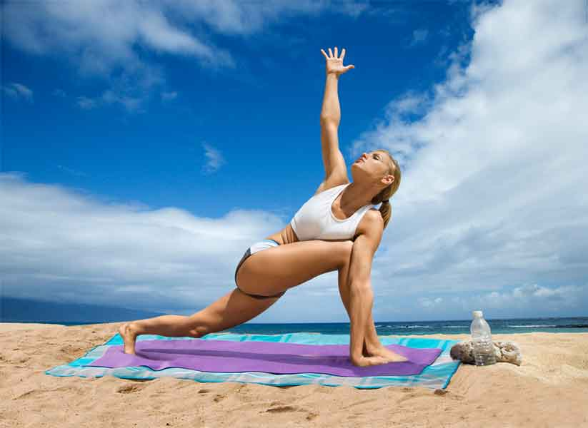 CGear, sandless mat, sand-free rug, blanket, yoga