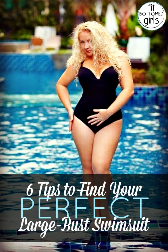 3a1fe53941183 Large Lady Lumps? 6 Tips to Find Your Best Fit Swimsuit