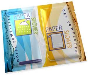 Paper-Shower