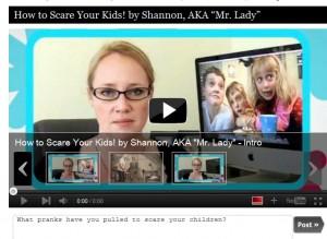 scared children video