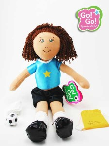 Go! Go! Sports Girls Dolls soccer