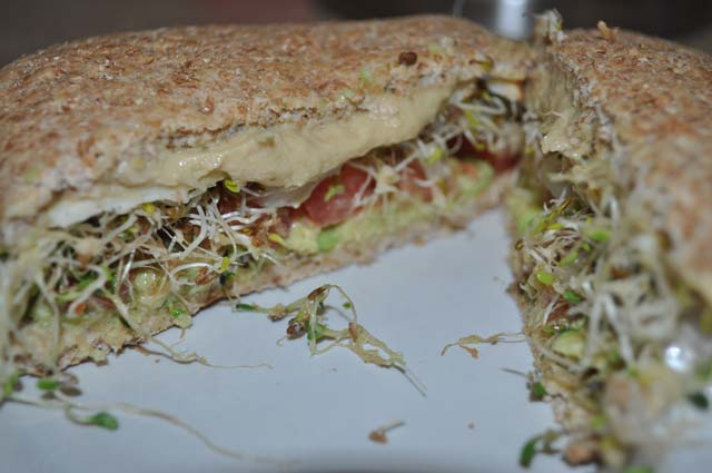 Is This Hummus and Veggie Sandwich the World's Best Lunch? I Won't ...
