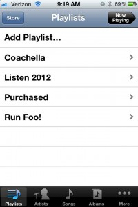 workout playlist, question of the week