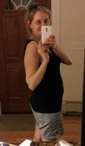 3 month postpartum belly