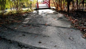 sidewalk danger