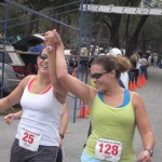 This half marathon finish line picture means I can cross at least one of these off my list!