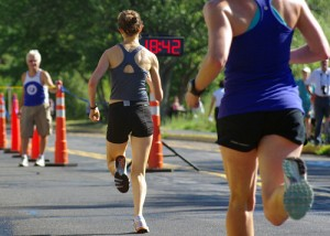 Training for a race is fun, but make sure you're doing it right so that you can prevent running injuries. CREDIT: Paul-W
