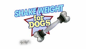 Paws-itively Hilarious: The Shake Weight for Dogs