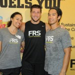 Me, Tebow and Mark post awesome workout