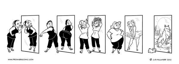weight loss cartoon