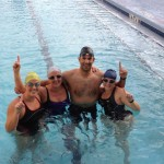 Swimming is more fun with friends! Credit: Sun Country Swimmers