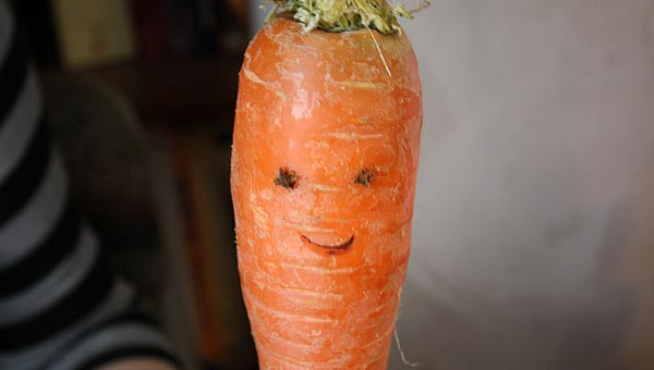 happy carrot