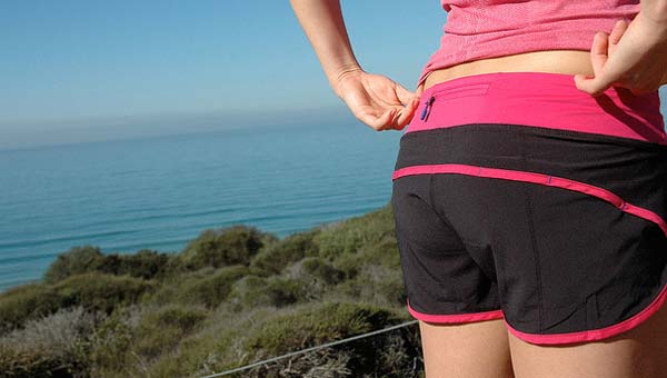 Love shorts like these that ride low in the waist and shorter on the legs. How about you? Credit: lululemon athletica