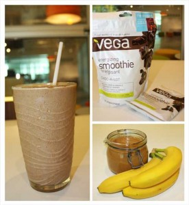 Vega Energizing Smoothie Giveaway and a Chocolate Almond Shake Recipe!