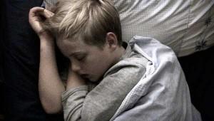 boy sleeping nightmares