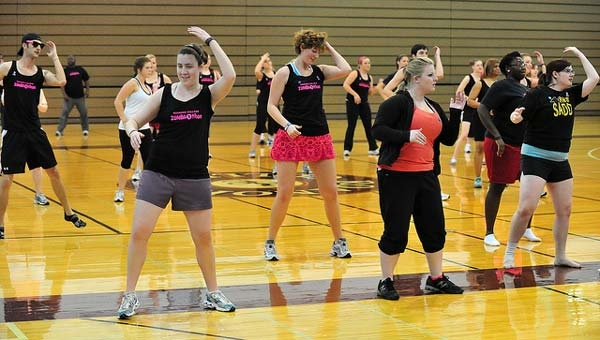 Did you get your dance cardio on in college? Credit: roanokecollege