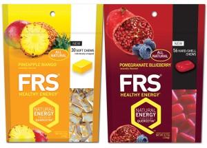 FRS chews, energy, quercetin