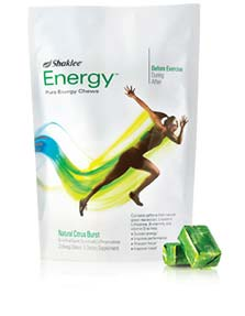 Shaklee Review: Energy Chews and Performance Drink Mix (Plus Giveaway!)