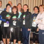 Kelsey and her Kansas City Marathon relay team!
