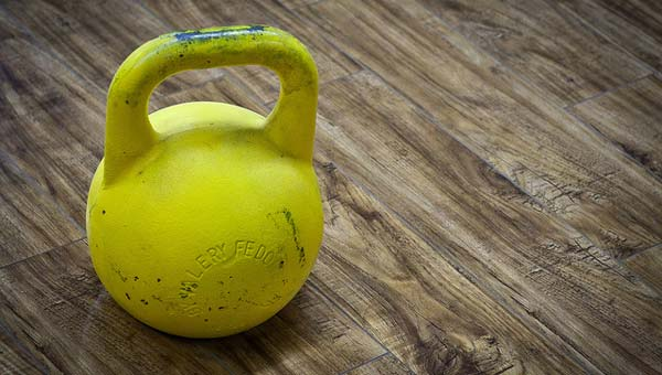 Meet the kettlebell. One of the most effective pieces of fitness equipment to have at home. Credit: andrewmalone