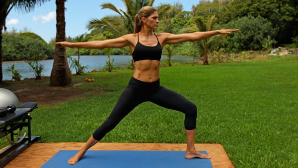 Gabby Reece powers up with some pretty sweet tunes.
