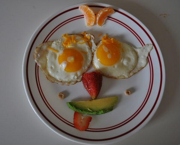 Fertility superfood eggs --- especially the yolks --- should have you smiling!