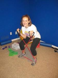 See? Strength training is fun!