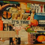 Get healthier and happier by making a healthy living dream board!