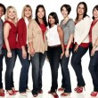 Real women, who have all been affected by heart disease. Credit: Women Go Red, American Heart Association