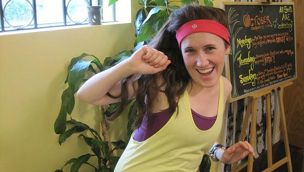 Do workout headbands stay put on your head or slip off after a few minutes? Credit: lululemon athletica