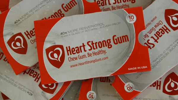 Chew for a healthier heart?
