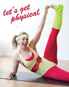 Good news: None of these fun ways to burn 100 calories require leg warmers! Credit: lululemon athletica