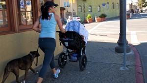 Running with a stroller? Tips to do it the right way! Credit: donjd2