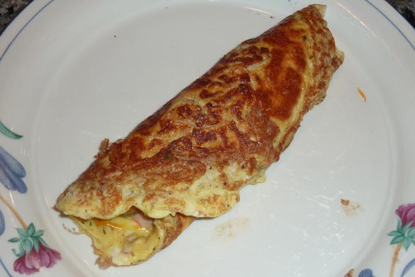 rolled-omelette