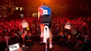 Josh Taylor pushes tons of people to new SPINNING heights during classes.