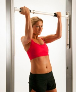 Can't do a pull-up? This bar can help you get there!