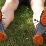 Going with a more barefoot shoe and gait helped this reader's running woes! Credit: GrejGuide.dk