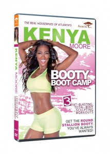 "Get a ""stallion booty"" with Kenya Moore's signature moves."