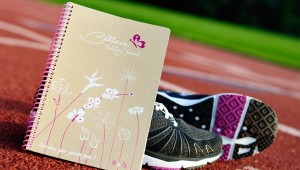 Track your goals, your runs and all of your successes with this feel-good training journal.
